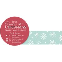 Docrafts Craft Tape, 5m, Snowflakes