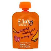 Ella's Kitchen Mangoes Mangoes Mangoes Stage 1 from 4 Months 70g