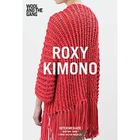Wool and the Gang Women's Roxy Kimono Knitting Pattern