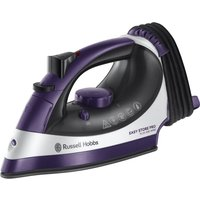 RUSSELL HOBBS Easy Store Pro Plug & Wind 23780 Steam Iron - Purple & White, Purple