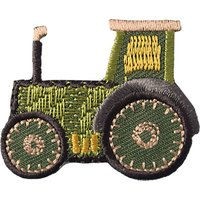Habico Iron On Green Tractor Motif