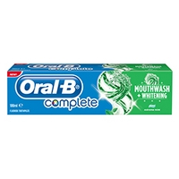 Oral B Complete Mouthwash + Whitening 100ml