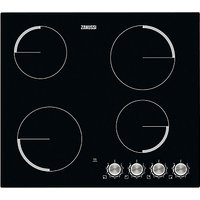 Zanussi ZV694NK Electric Ceramic Hob, Black