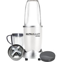 NutriBullet 8 Piece 600 Series Juicer Blender, White