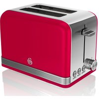 SWAN ST19010RN 2-Slice Toaster - Red, Red