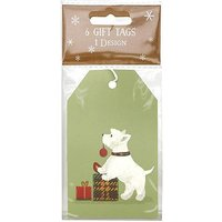 Boots Christmas Scotty Dog Tag