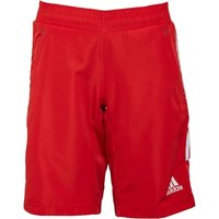 adidas Womens Woven Shorts Collegiate Red