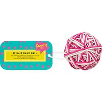 NPW Children's Hair Band Ball, Pack of 99, Pink