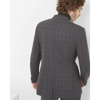 Commuter Checked Wool Jacket