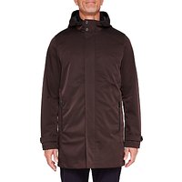 Ted Baker T for Tall Long Stack Mac Coat, Dark Red