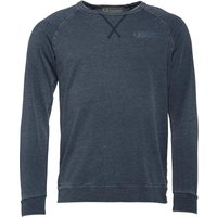 Bedroom Athletics Mens Jacob Long Sleeve Top Washed Navy