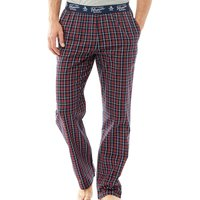 Original Penguin Mens Woven Lounge Pants Dress Blue Check