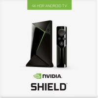 NVIDIA SHIELD 4K Media Streaming Device - 16 GB  Remote