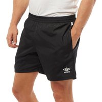 Umbro Mens Training Woven Shorts Black/White