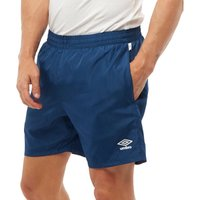 Umbro Mens Training Woven Shorts Navy/White