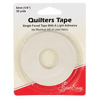 Sew Easy Quilters' Tape, Cream