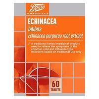 Boots Cold and Flu Relief Echinacea Tablets (60 Tablets)