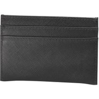 French Connection Mens Saffiano Cardholder Black