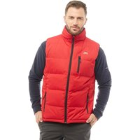 Trespass Mens Clasp Padded Gilet Vest Red