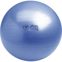 Yoga-Mad Swiss Fitness Ball and Pump, Blue
