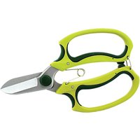Kew Gardens Razor Soft Feel Gardening Scissors, Green