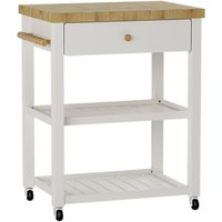 Croft Collection Wood Butcher's Trolley