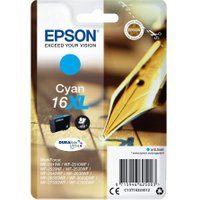 EPSON XL Pen & Crossword 16 Cyan Ink Cartridge, Cyan