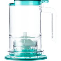 T2 Tea Maker Jug, Clear/Aqua, 500ml