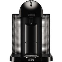 Nespresso Vertuo Coffee Machine by Krups, Piano Black