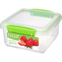 SISTEMA Lunch Plus Fresh 1.2 litre Container - Green, Green
