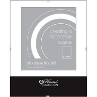 Glass Clip 8x10 Photo Frame