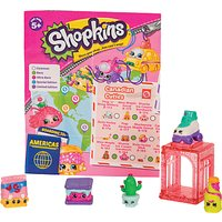 Shopkins Series 8 World Vacation The Americas, Pack of 5