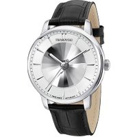 Atlantis Limited Edition Automatic Men's Watch, Leather strap, White, Silver tone