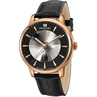 Atlantis Limited Edition Automatic Men's Watch, Leather strap, Black, Rose gold tone