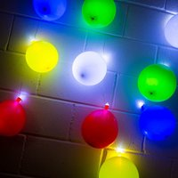 Coloured Balloon lights
