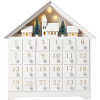 Linea White Wooden Advent, N/A