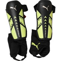 Puma evoTOUCH And Ankle Shin Guard Black/Safety Yellow/Puma White