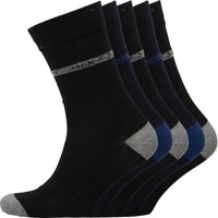 JACK AND JONES Mens Otto Five Pack Socks Multi