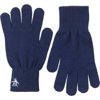 Original Penguin Mens Rib Gloves Navy