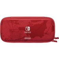 Nintendo Switch Accessory Set, Super Mario Odyssey Edition Carrying Case, Mario Red