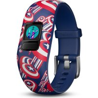 GARMIN vivofit jr 2 Kid's Activity Tracker - Captain America, Adjustable Band