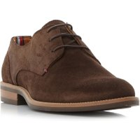 Tommy Hilfiger Daytona 1B Suede Gibson Shoes, Tan