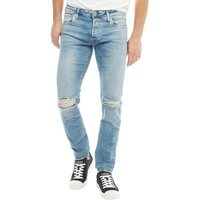 JACK AND JONES Mens Glenn JJ Original JOS 166 Jeans Blue
