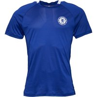 adidas Mens CFC Chelsea Climalite Training Top Chelsea Blue