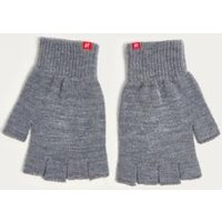 iets frans... Grey Fingerless Gloves, grey