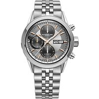 Raymond Weil 7731-ST120621 Men's Freelancer Automatic Chronograph Day Date Bracelet Strap Watch, Sil