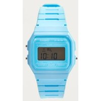 Casio Classic Light Blue Digital Watch, Blue