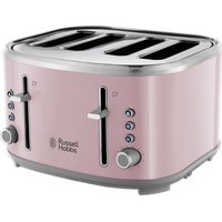 R HOBBS Bubble 24412 4-Slice Toaster - Pink, Pink