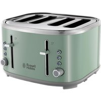 R HOBBS Bubble 24414 4-Slice Toaster - Green, Green