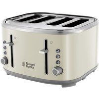 R HOBBS Bubble 24411 4-Slice Toaster - Cream, Cream